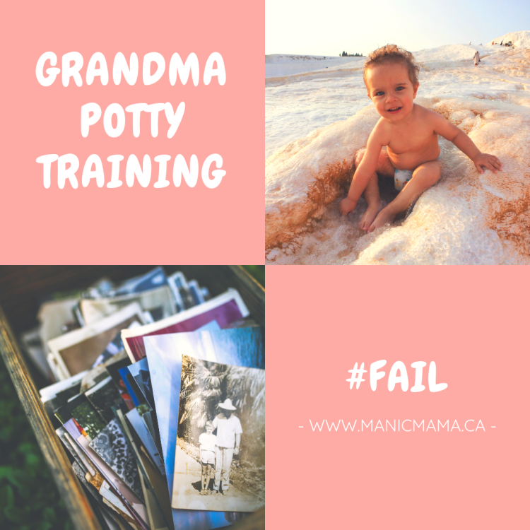 Grandma Potty Training Fail